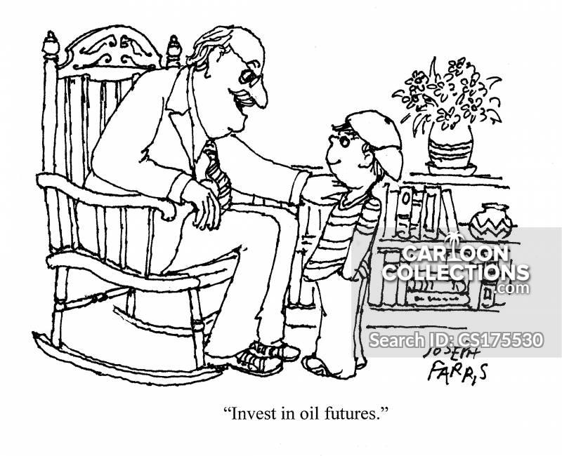 oil futures cartoon