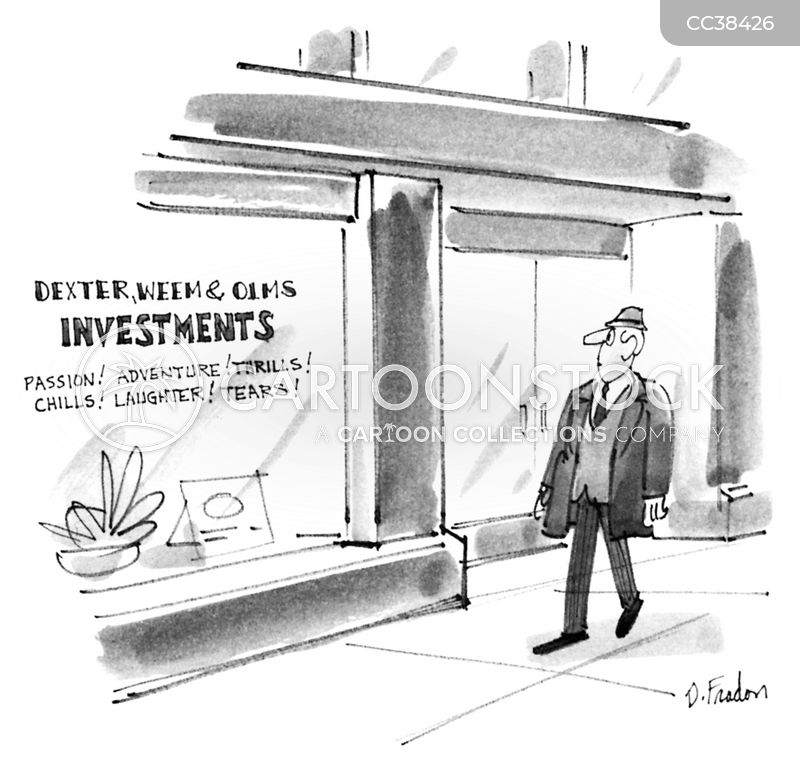 investment bankers cartoon