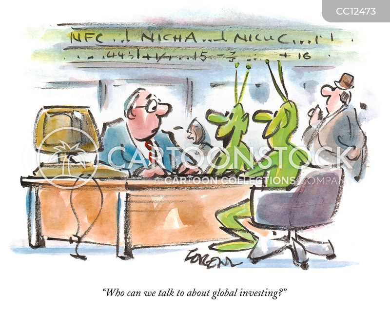 investment banking cartoon