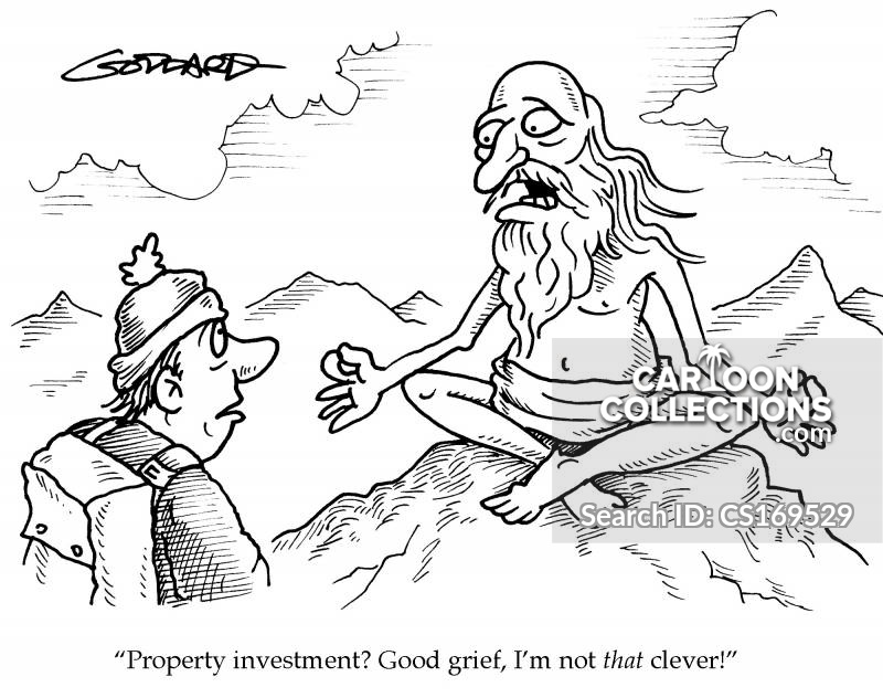 Property Price cartoon