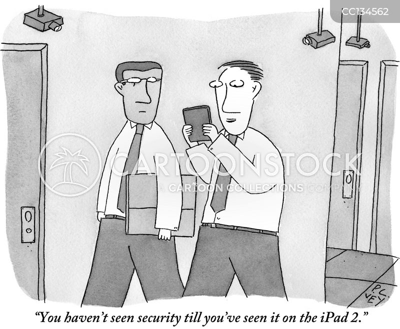 Ipads cartoon