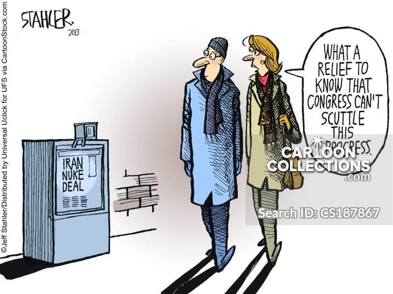 iran nuke deal cartoon