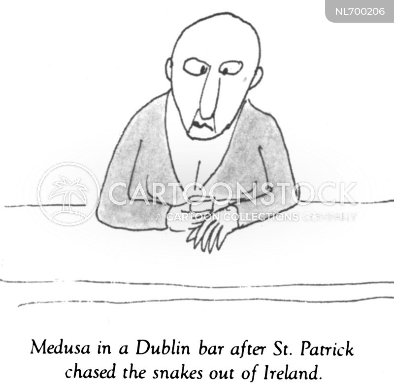 ireland cartoon