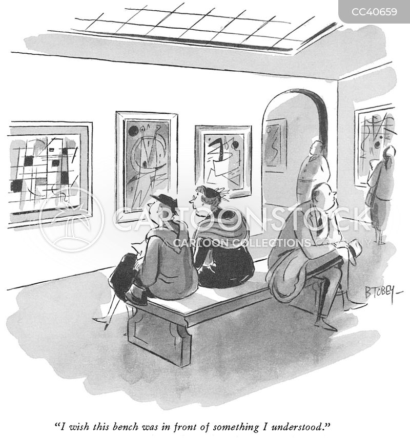 modernism cartoon