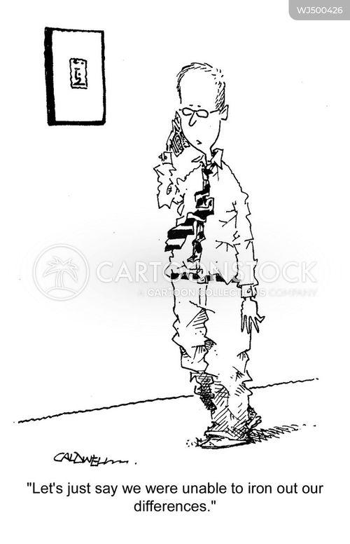 row cartoon