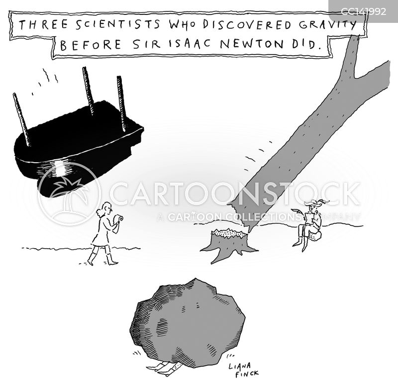gravitational cartoon