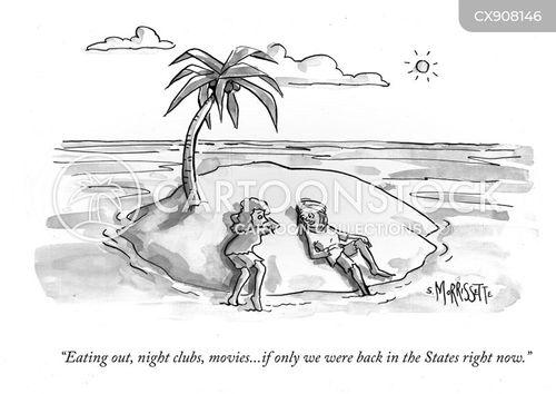 unaware cartoon