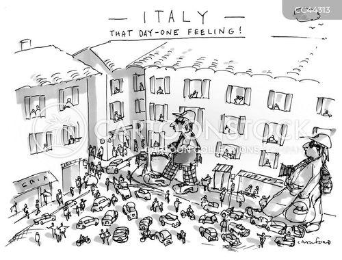 american tourists cartoon