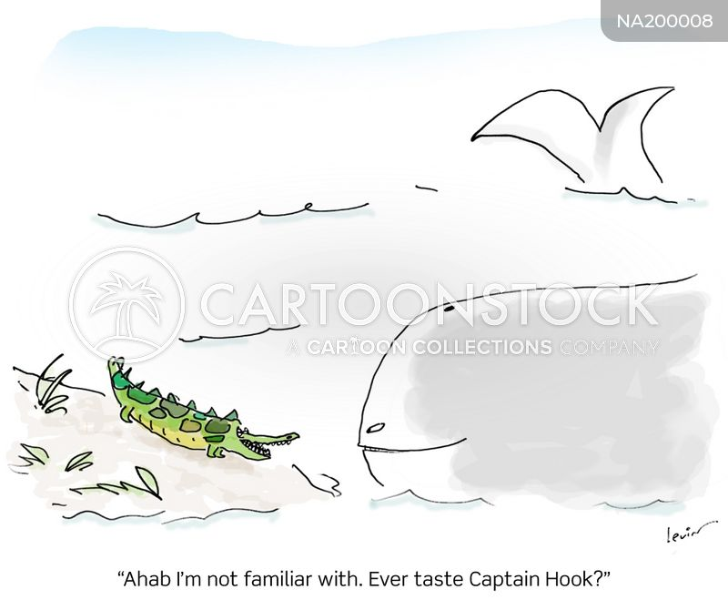 captain ahab cartoon
