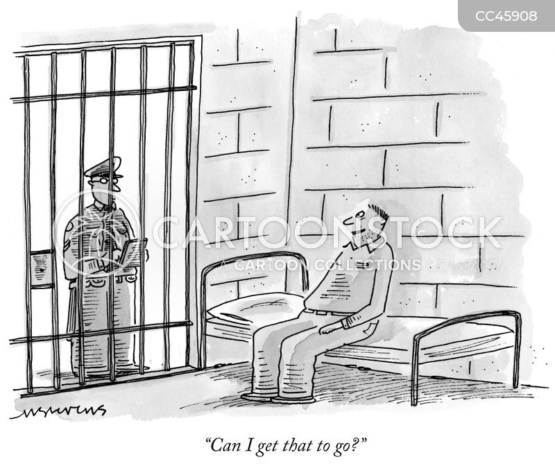 Prison Warden cartoon