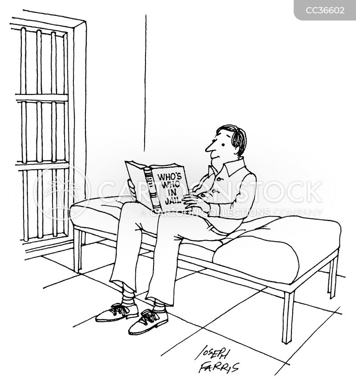 imprisonment cartoon