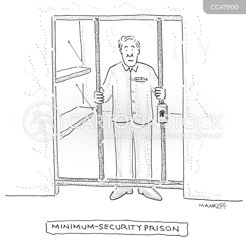 prison cell cartoon