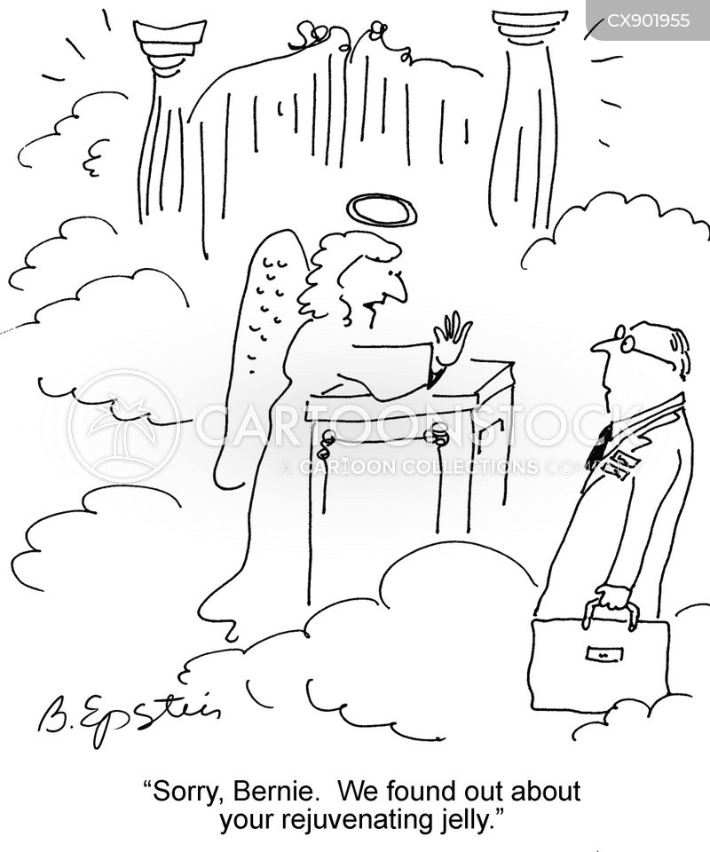 heavenly gates cartoon