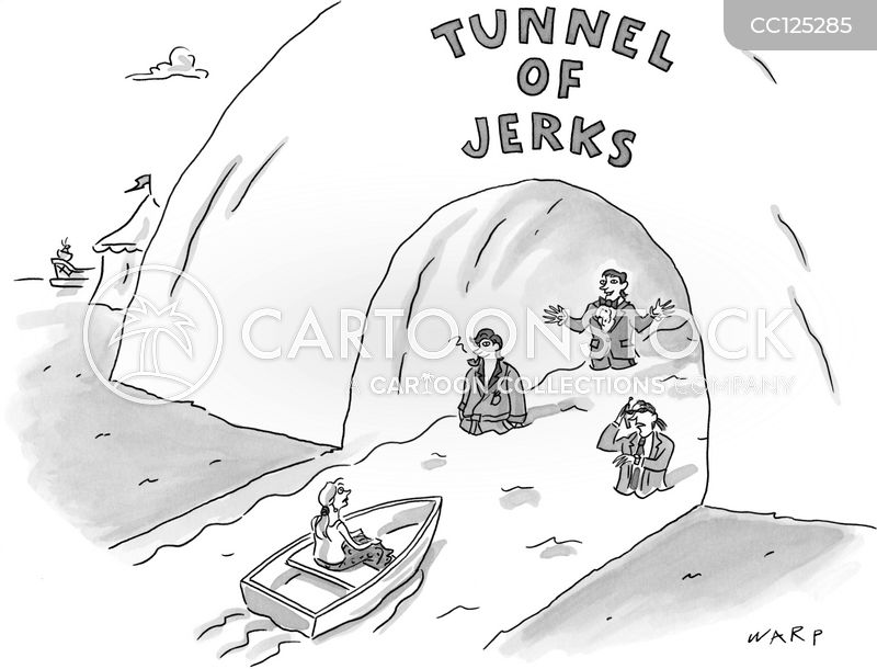 Jerk cartoon