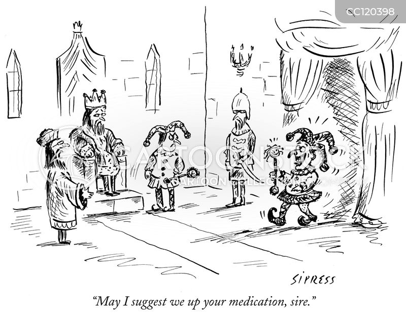Antidepressants cartoon