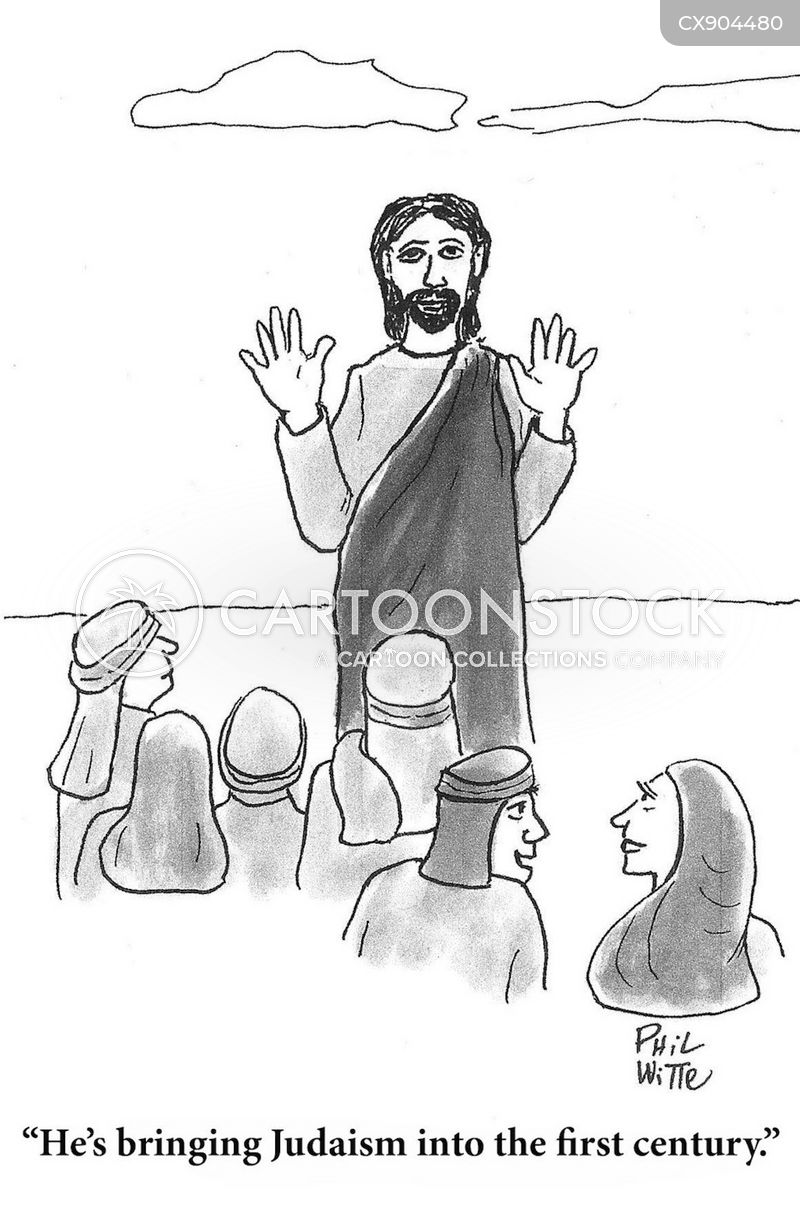 christ cartoon