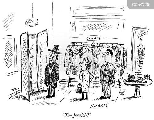 jewish stereotypes cartoon