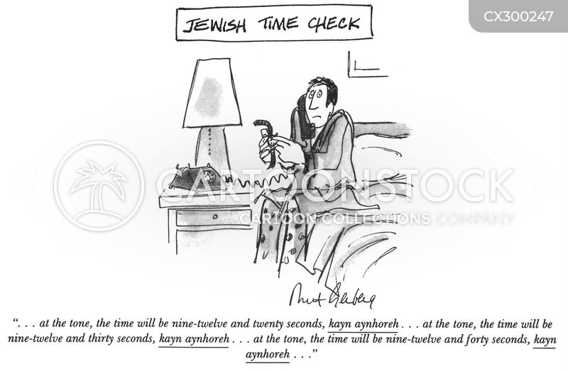 Jewish Grandmothers cartoon