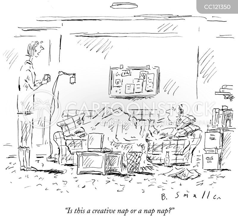 flexible workplaces cartoon