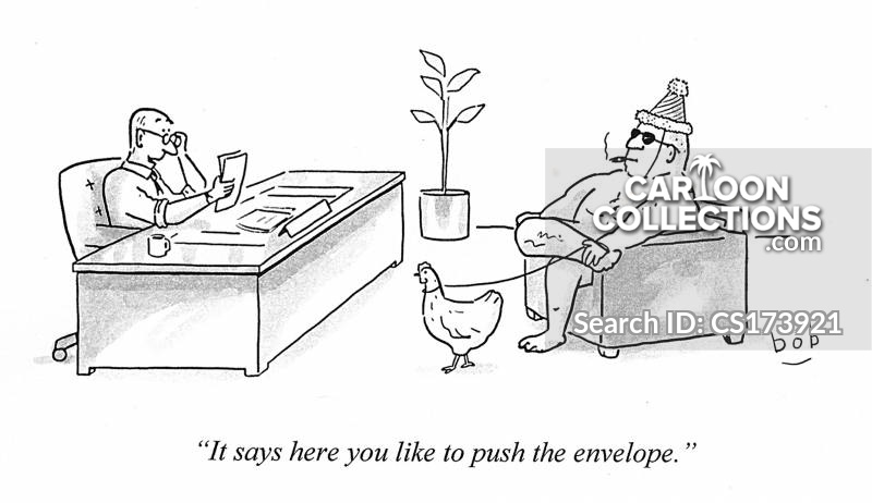 Pushing At Boundaries cartoon
