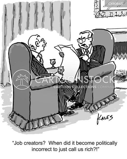 job creator cartoon
