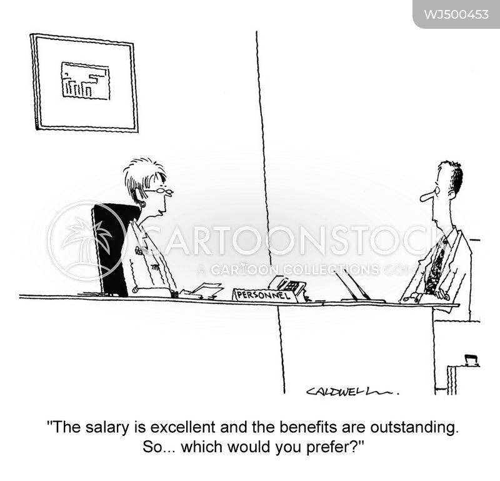 job offer cartoon