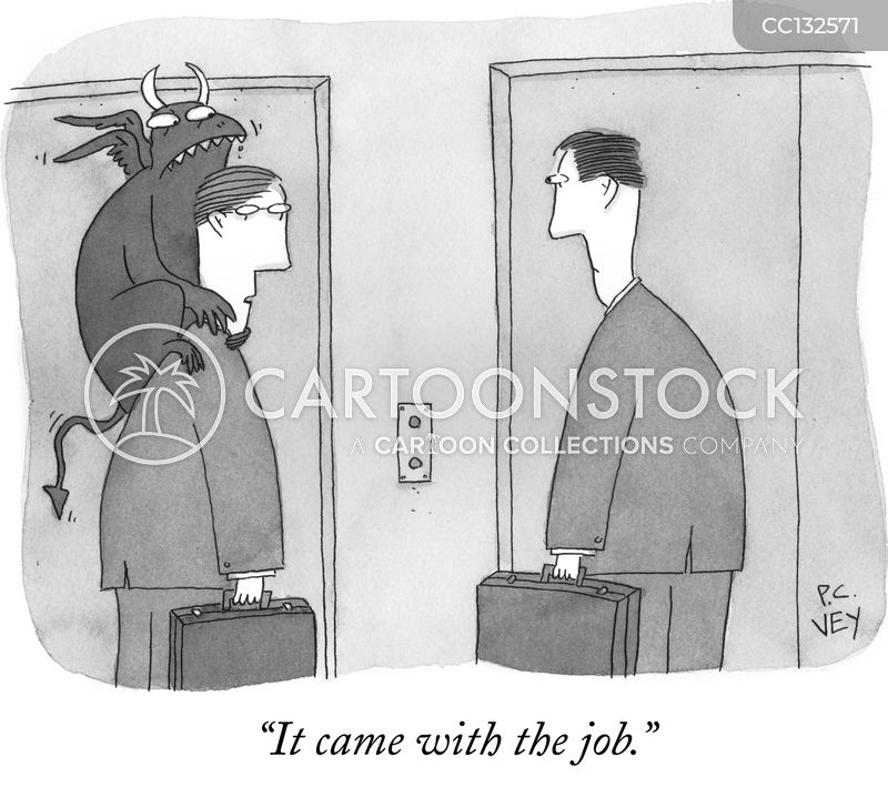 Career cartoon