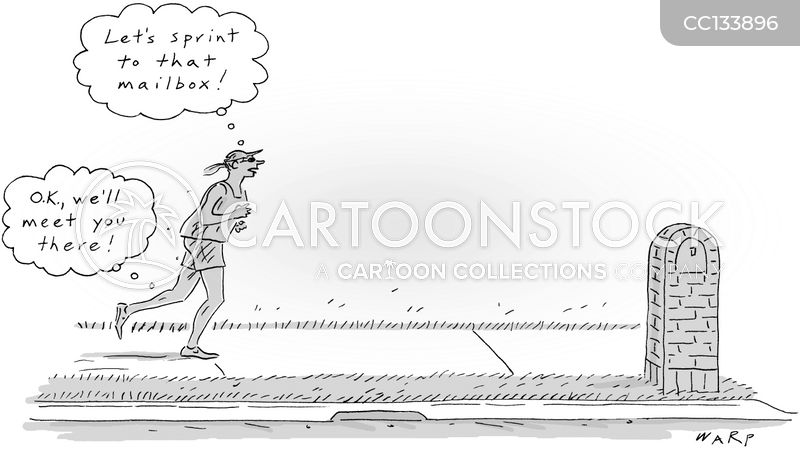 run cartoon