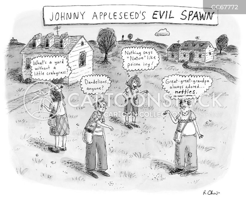 johnny appleseed cartoon