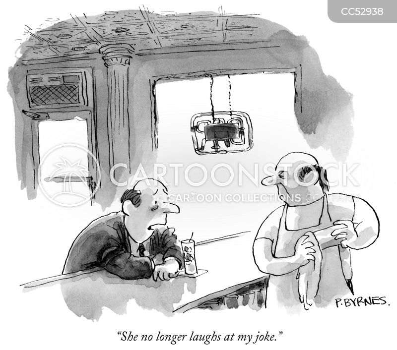 sense of humour cartoon