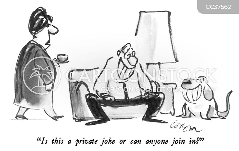 Private Joke cartoon