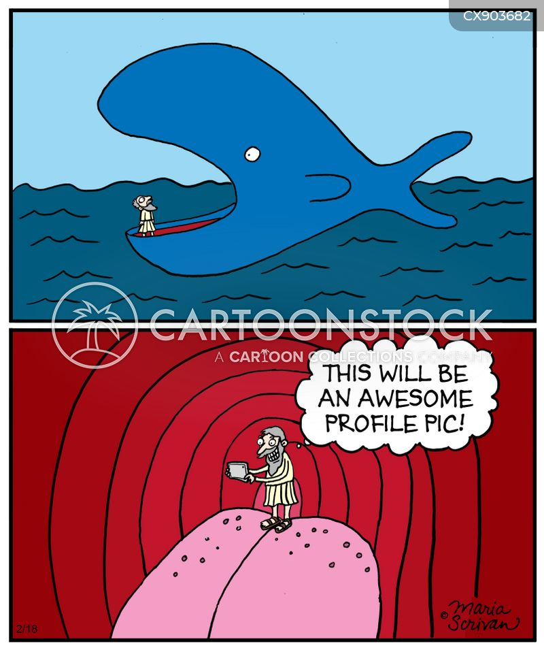 social media obsessed cartoon