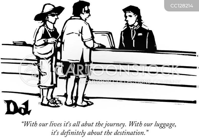 airlines cartoon