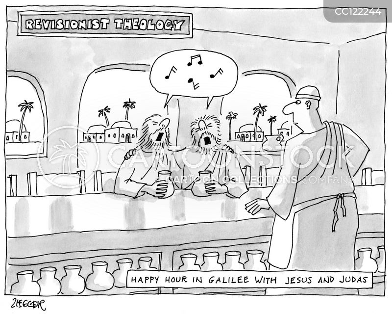 Judas cartoon
