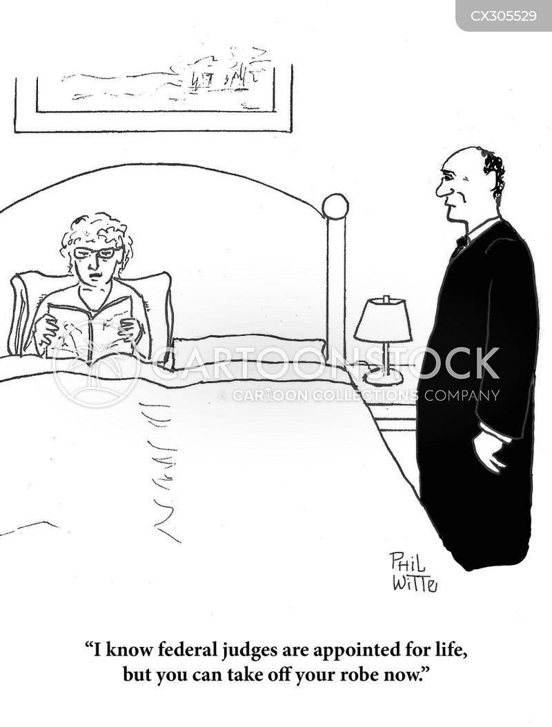 federal judge cartoon