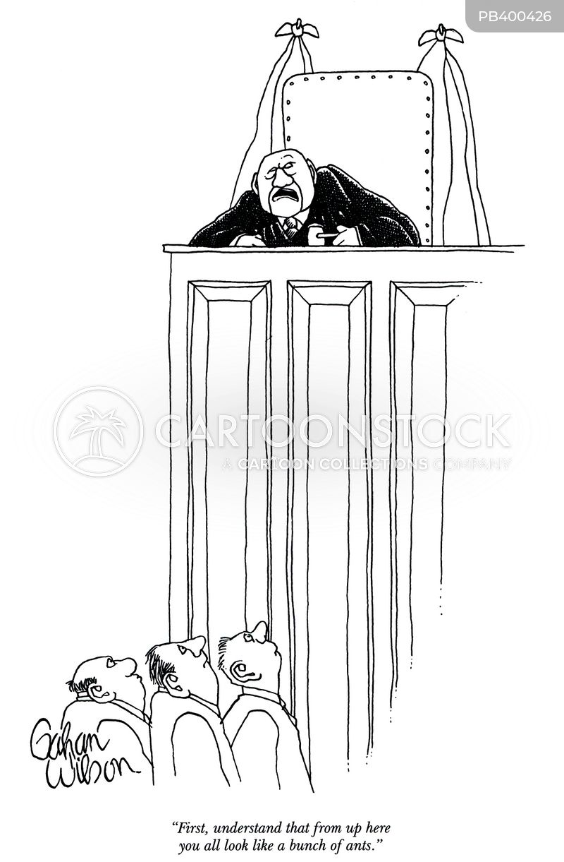 judgments cartoon