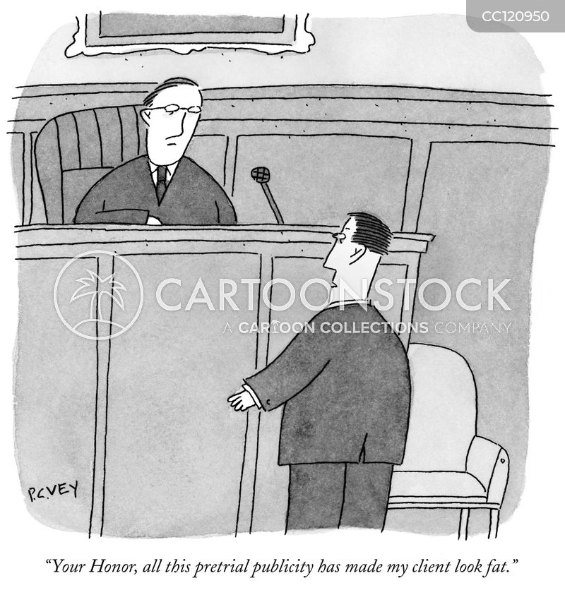 Prosecute cartoon
