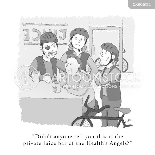 health foods cartoon