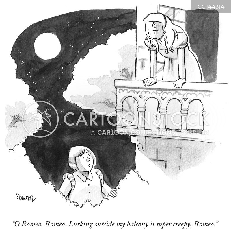 Romeo & Juliet cartoon