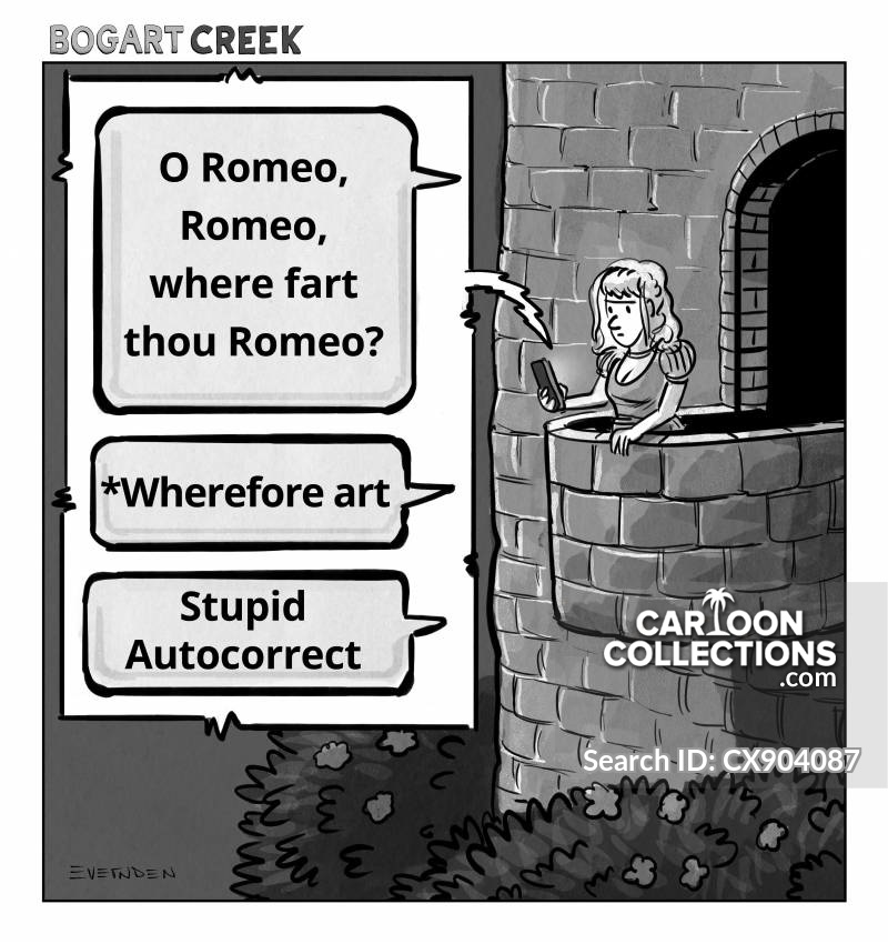 romeo cartoon