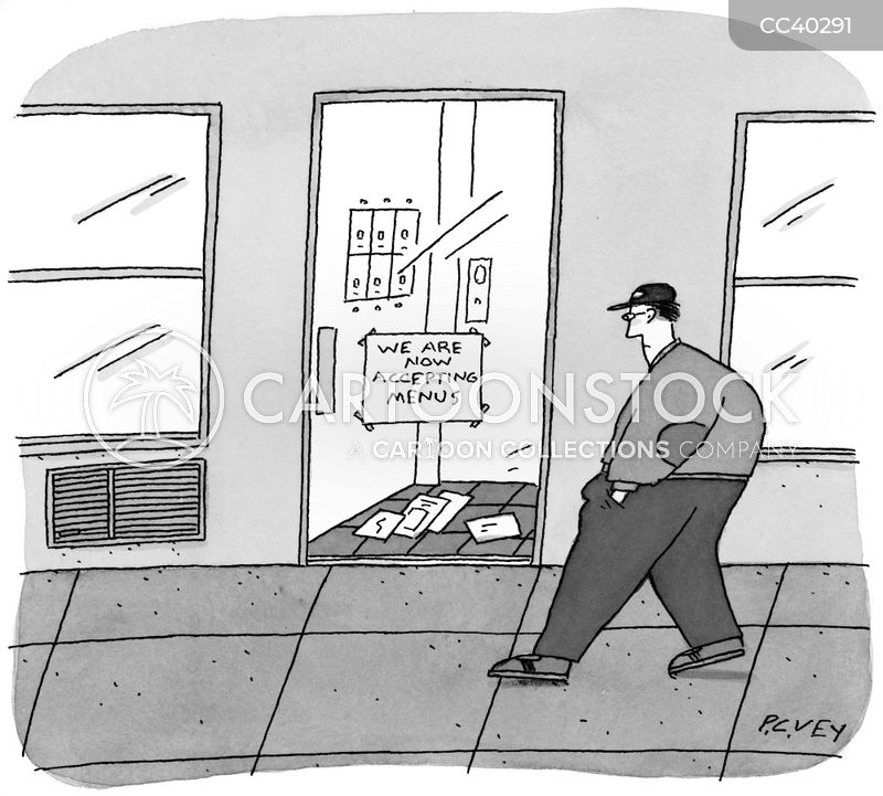 advertising mail cartoon