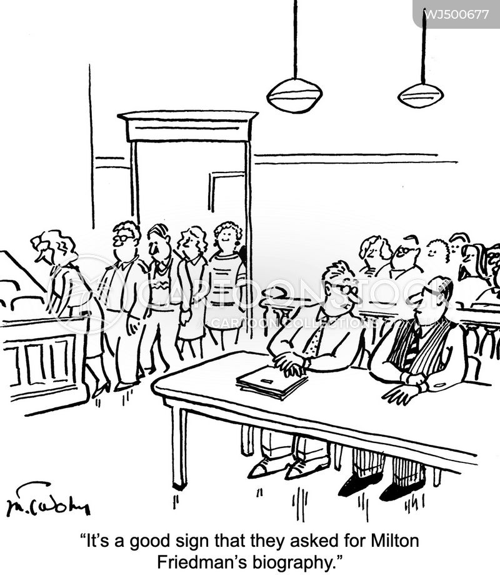 free market cartoon