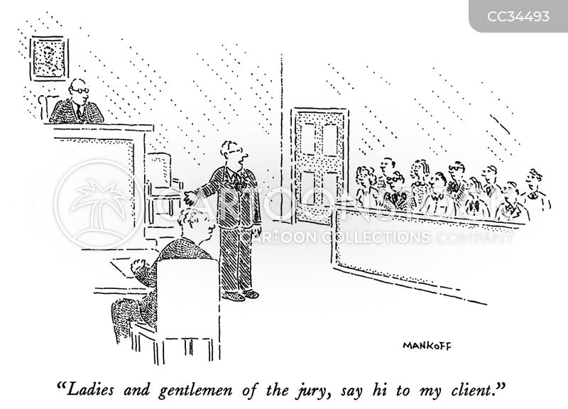 trial lawyers cartoon