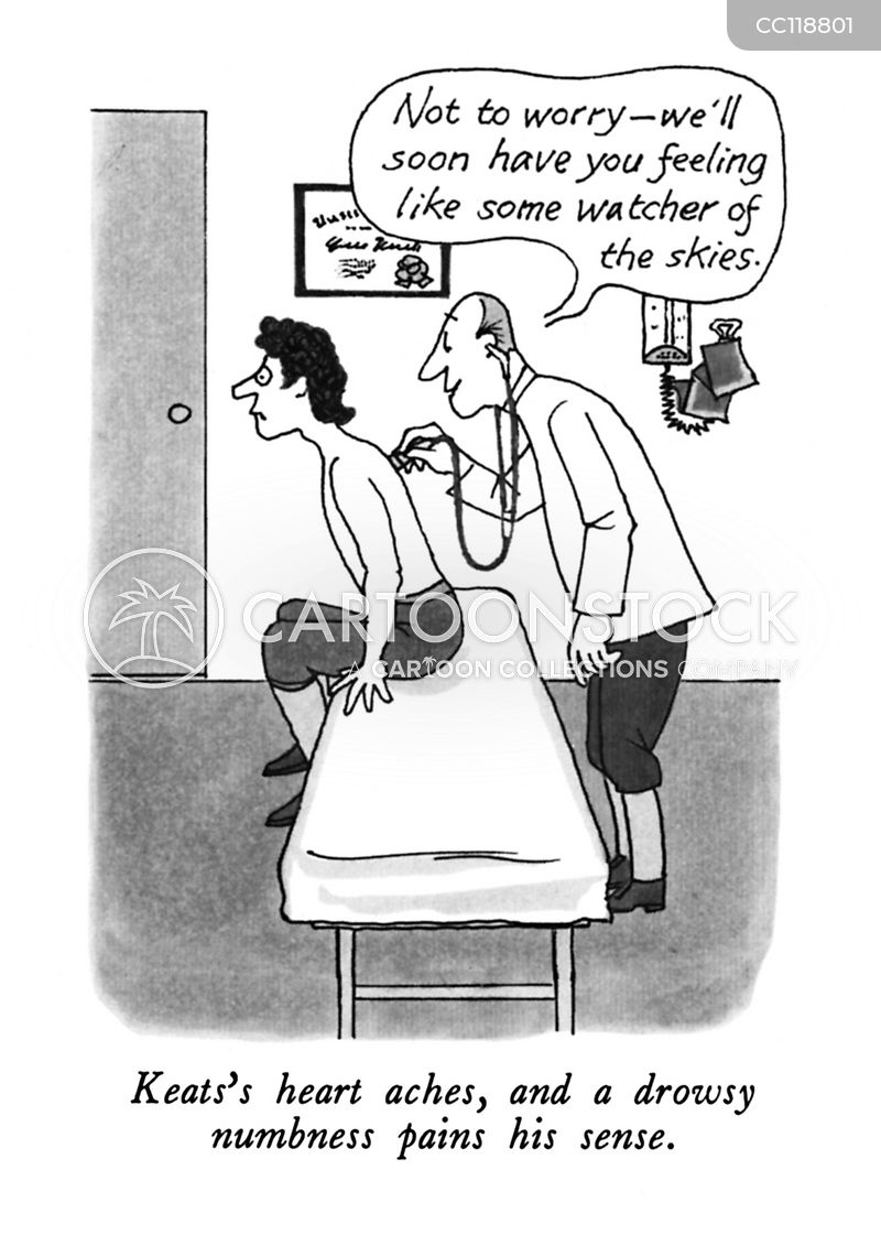 numbness cartoon