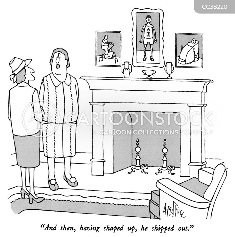 divorced cartoon