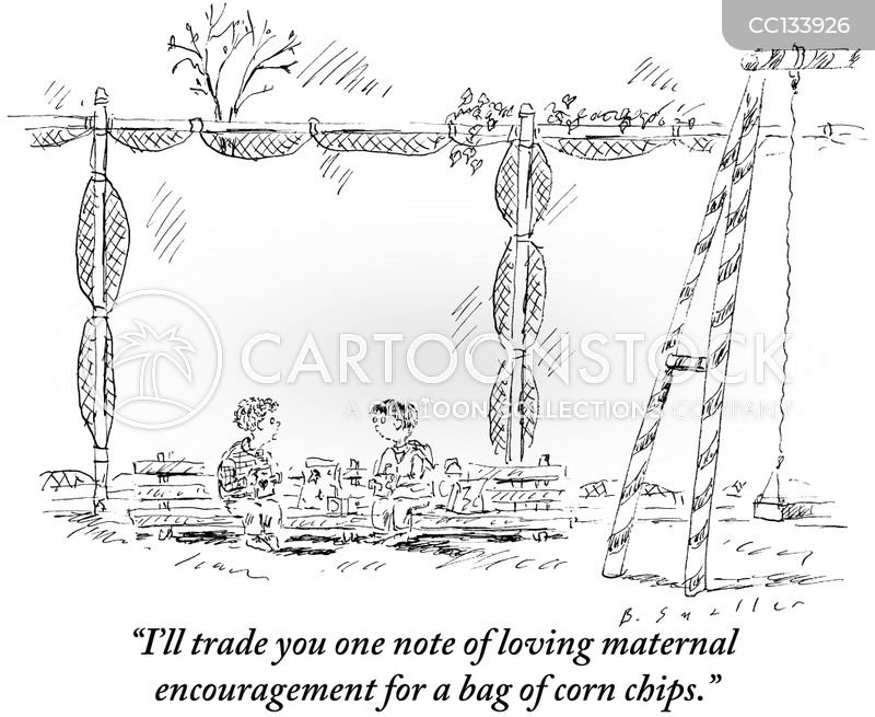trade cartoon