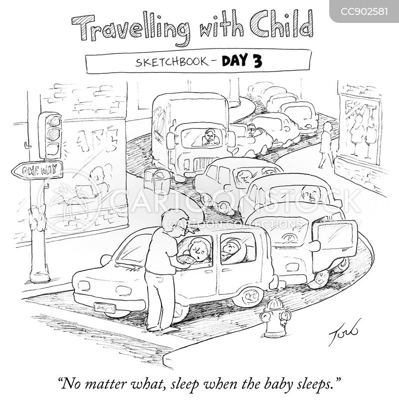 travel tips cartoon