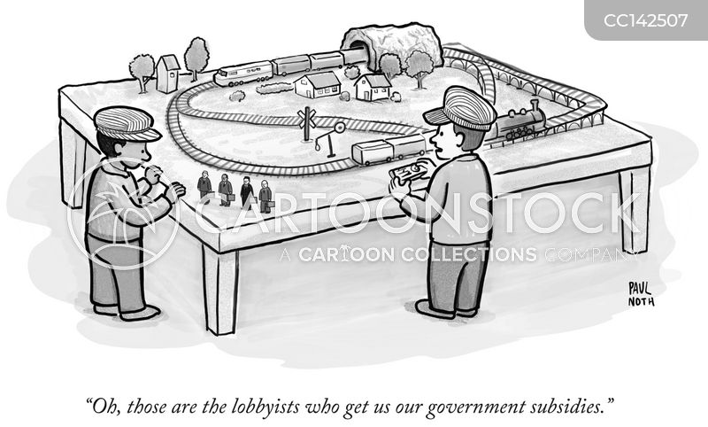 lobbying cartoon