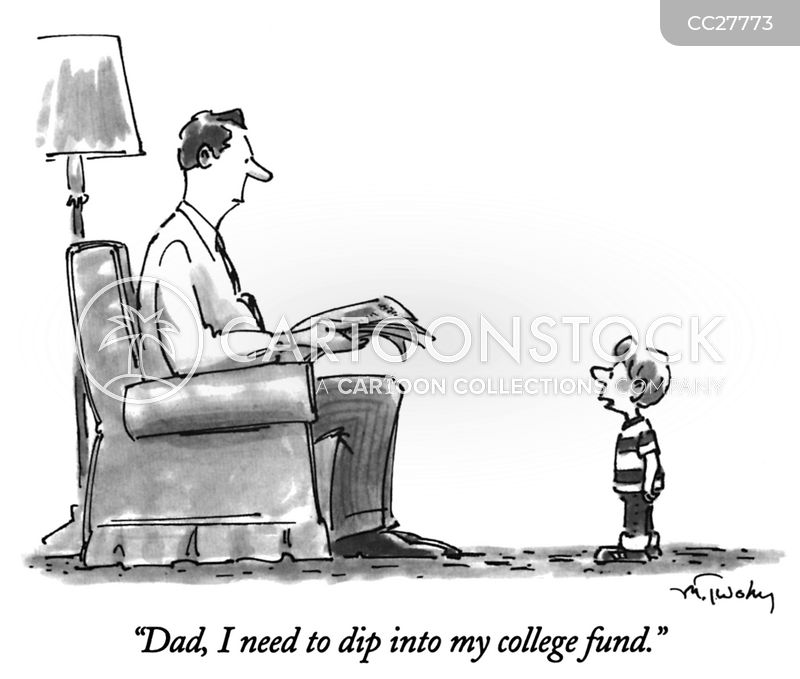 College Fund cartoon