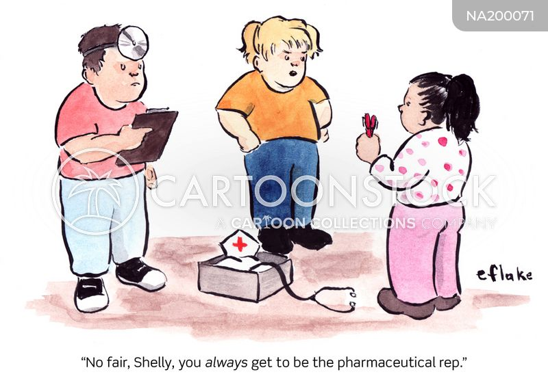 pharmaceutical reps cartoon